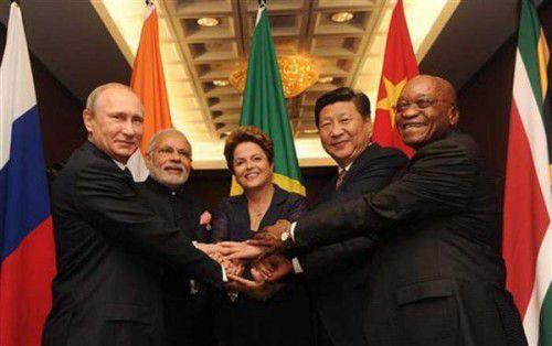 Les dirigeants des BRICS au G-20 le week-end dernier !!!