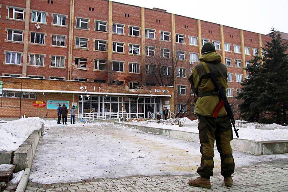 Une infirmière française dans le Donbass, courage et altruisme.
