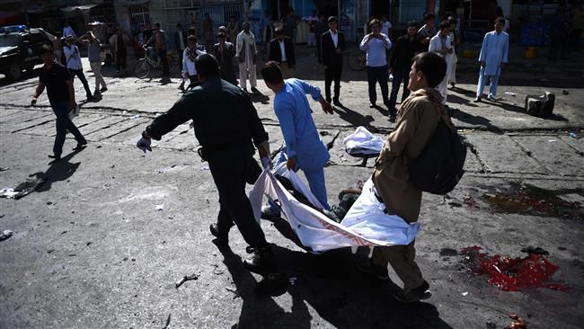 Un attentat secoue Kaboul, capitale de l'Afghanistan, le 23 juillet 2016. ©AFP