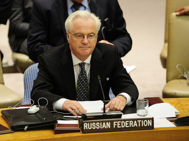Vitaly Churkin, Ambassadeur russe auprès des Nations Unies