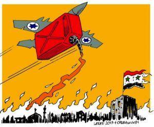 Golan : USA-Israël–Syrie-Liban, nouvelle guerre du pétrole.  Par Galil Agar