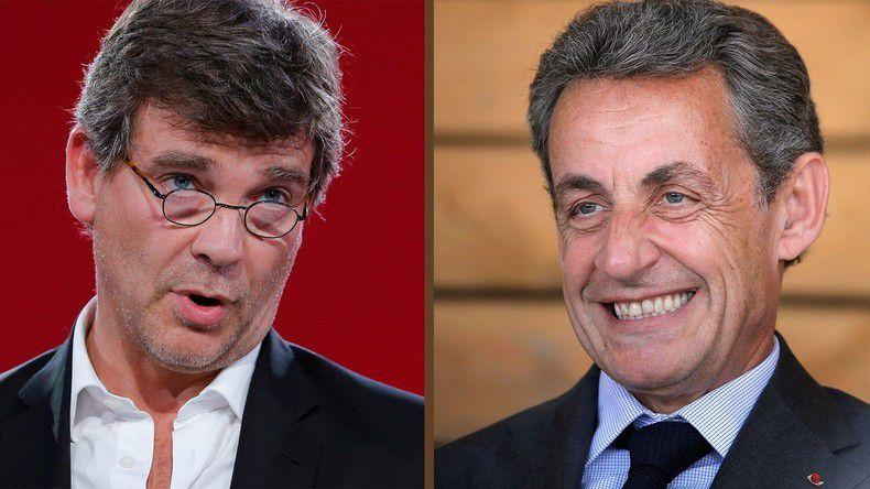 Sarkozy, Montebourg : amnésie, béquilles et cannes anglaises