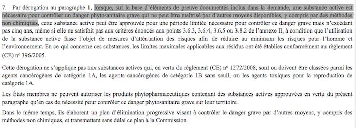 La Commission européenne autorise de nouveau... des pesticides interdits, par Sarah Lefèvre