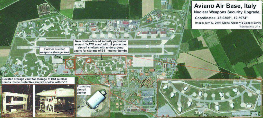 Interdite en Corée du Nord, elle est bien là,   la B61-12, la nouvelle bombe nucléaire étasunienne en Italie