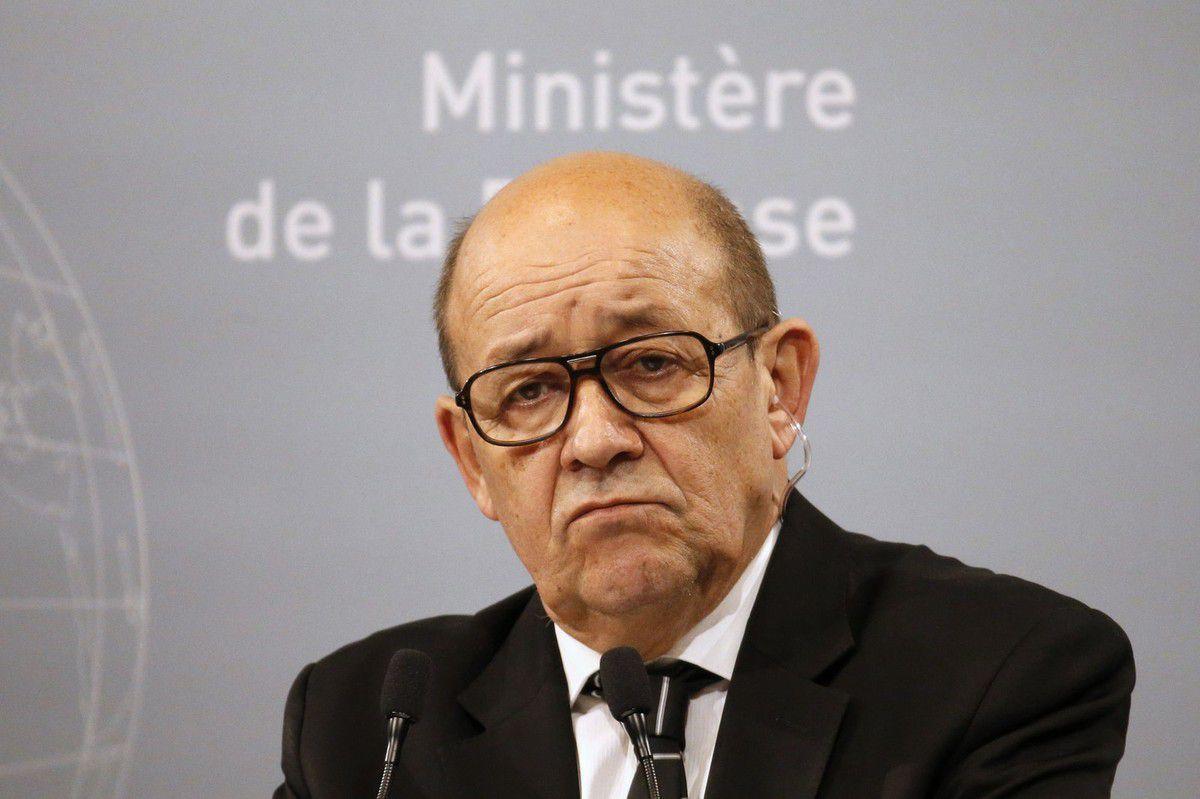 Jean-Yves Le Drian, ministre français de la Défense
