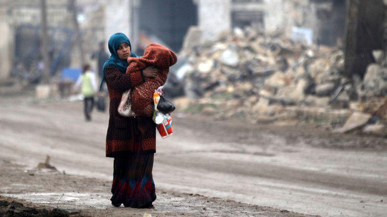 © Khalil Ashawi Source: Reuters –Alep, Syrie, décembre 2016