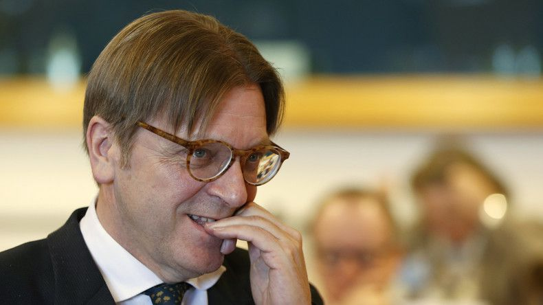 Guy Verhofstadt. © Francois Lenoir Source: Reuters