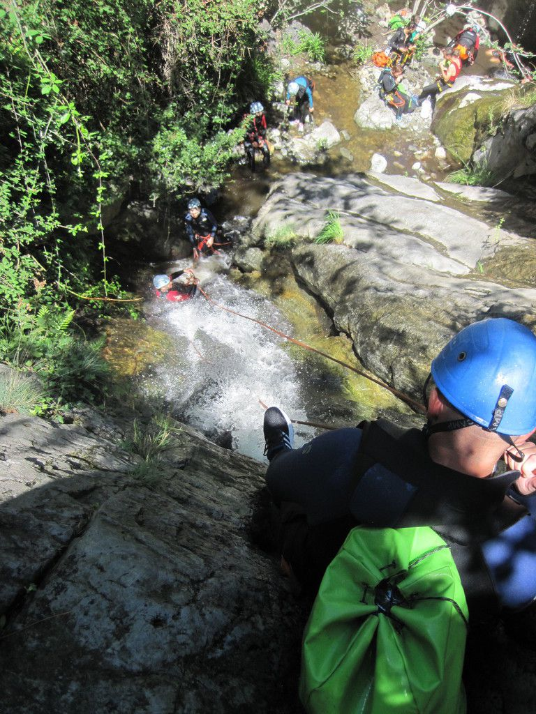 canyon de thues 10 aout eric