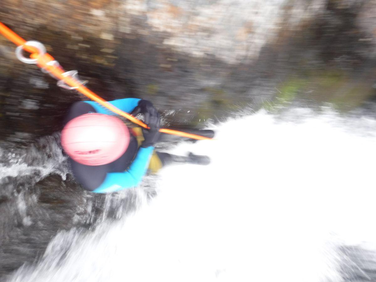 10-08 canyon des encantats avec marco