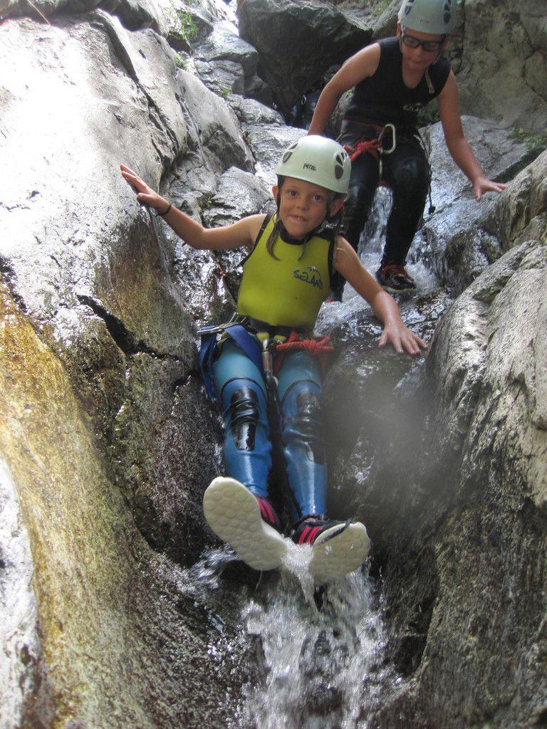 canyon de thues 13 aout eric....celui qui surmonte ses peurs possede la force!!! lao tseu