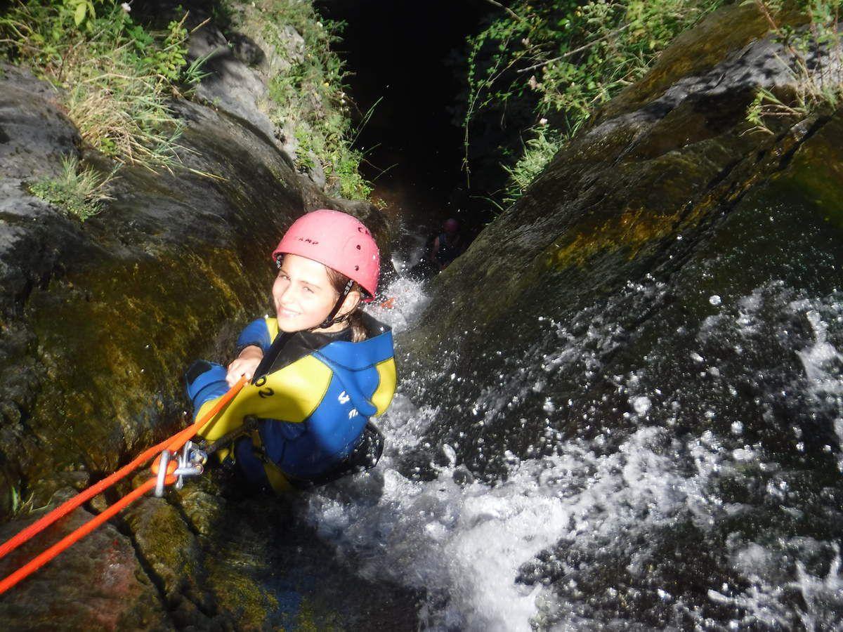 14-08 canyon d'eau chaude avec Marco