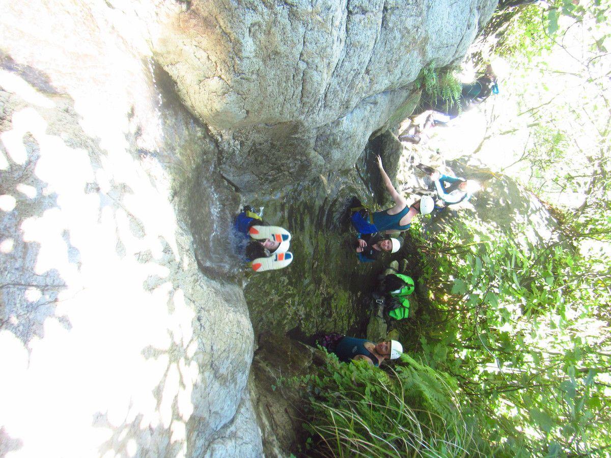 Canyon de Thues avec Mathieu 12 Août