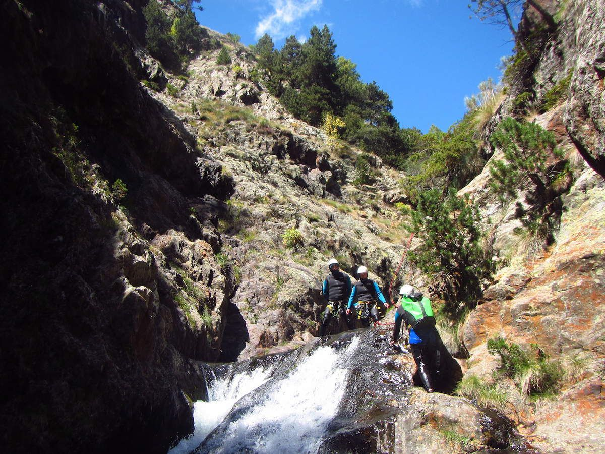 Canyon des Encantats avec Mathieu 11 Août