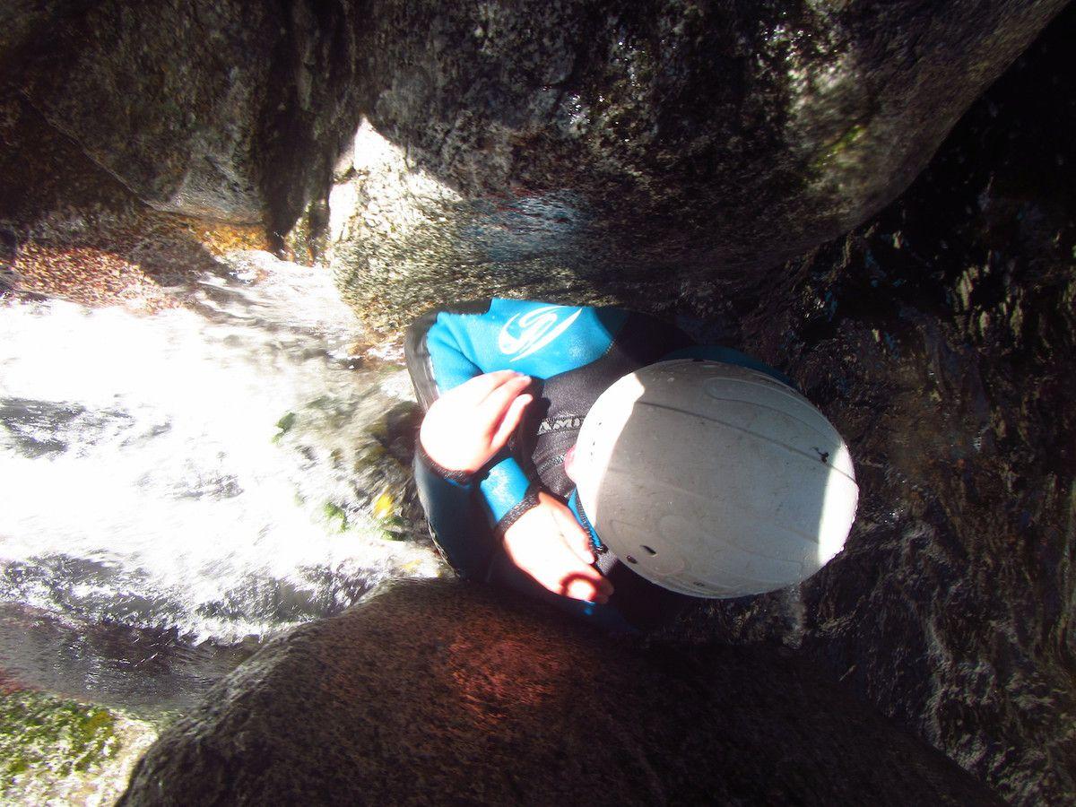 Canyon de Molitg avec Mathieu 10 Août