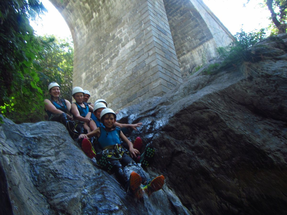 Canyon eau chaude 17 Aout après-midi avec Mathieu