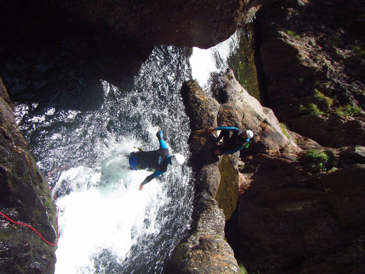 Canyon des Encantats 20 Août avec Mathieu