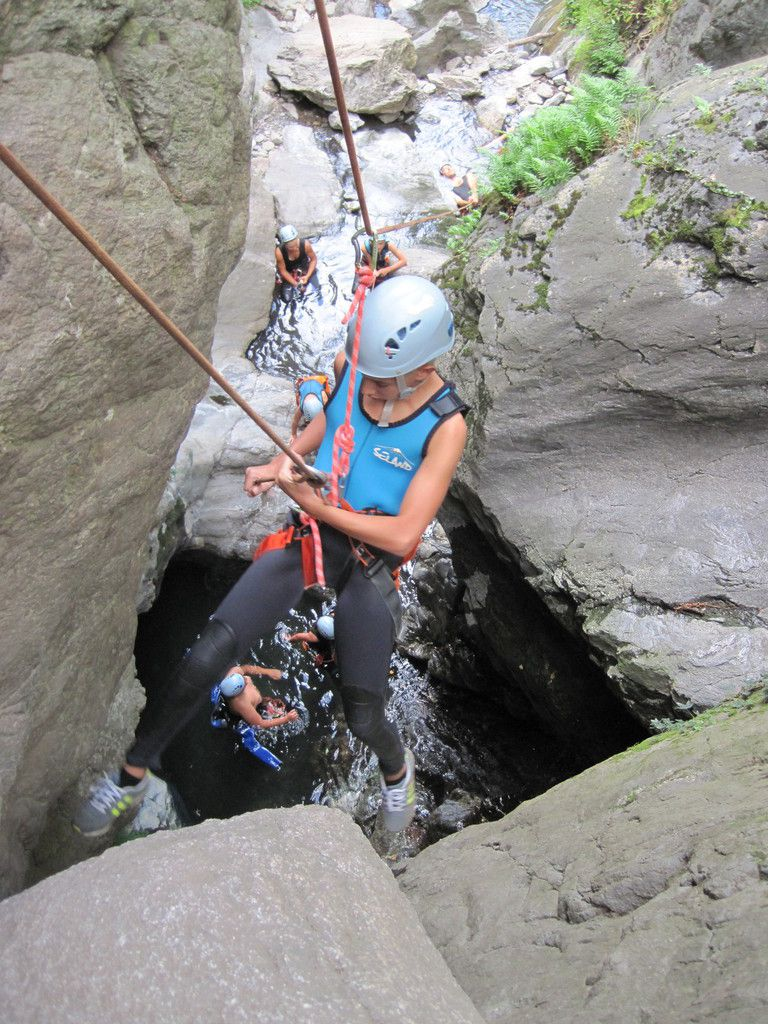 canyon de thues 30 aout avec rico..... big up les jeun's!!!! bravo!!