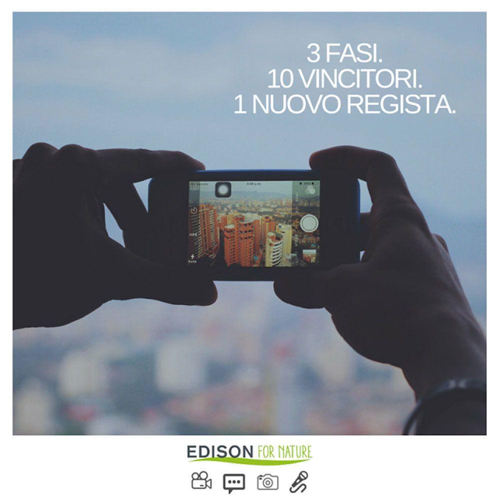 Edison for Nature, il contest che unisce energia, sostenibilità e cinema.
