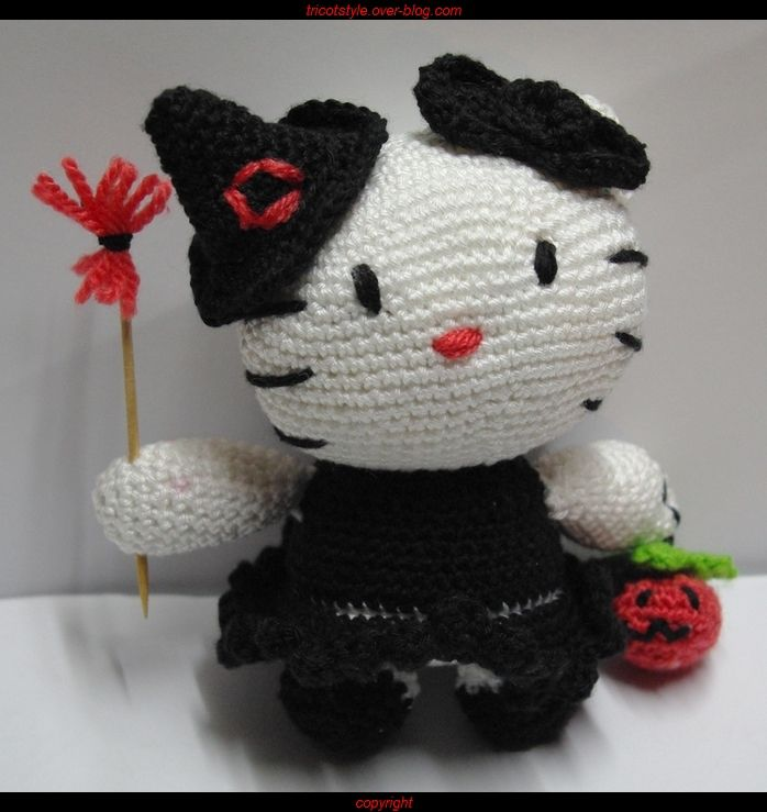 Hello Kitty d'Halloween