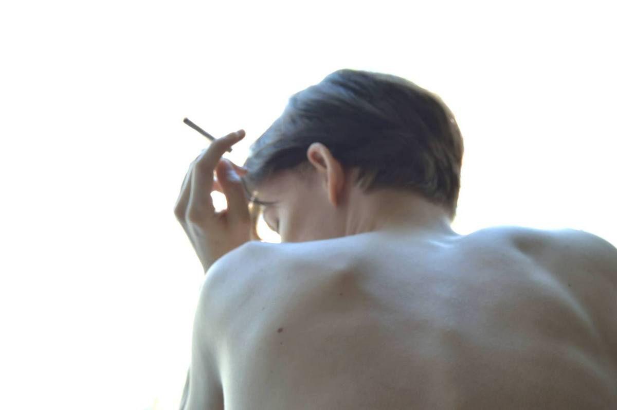 La première cigarette du matin