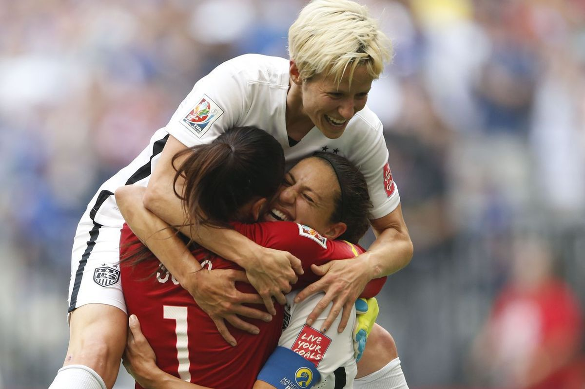 Photo: USA Today Megan Rapinoe USA