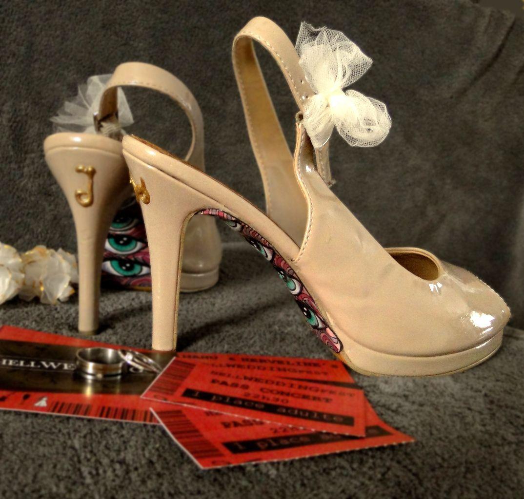[Wedding prep] Les chaussures de la mariée (customisation inside)