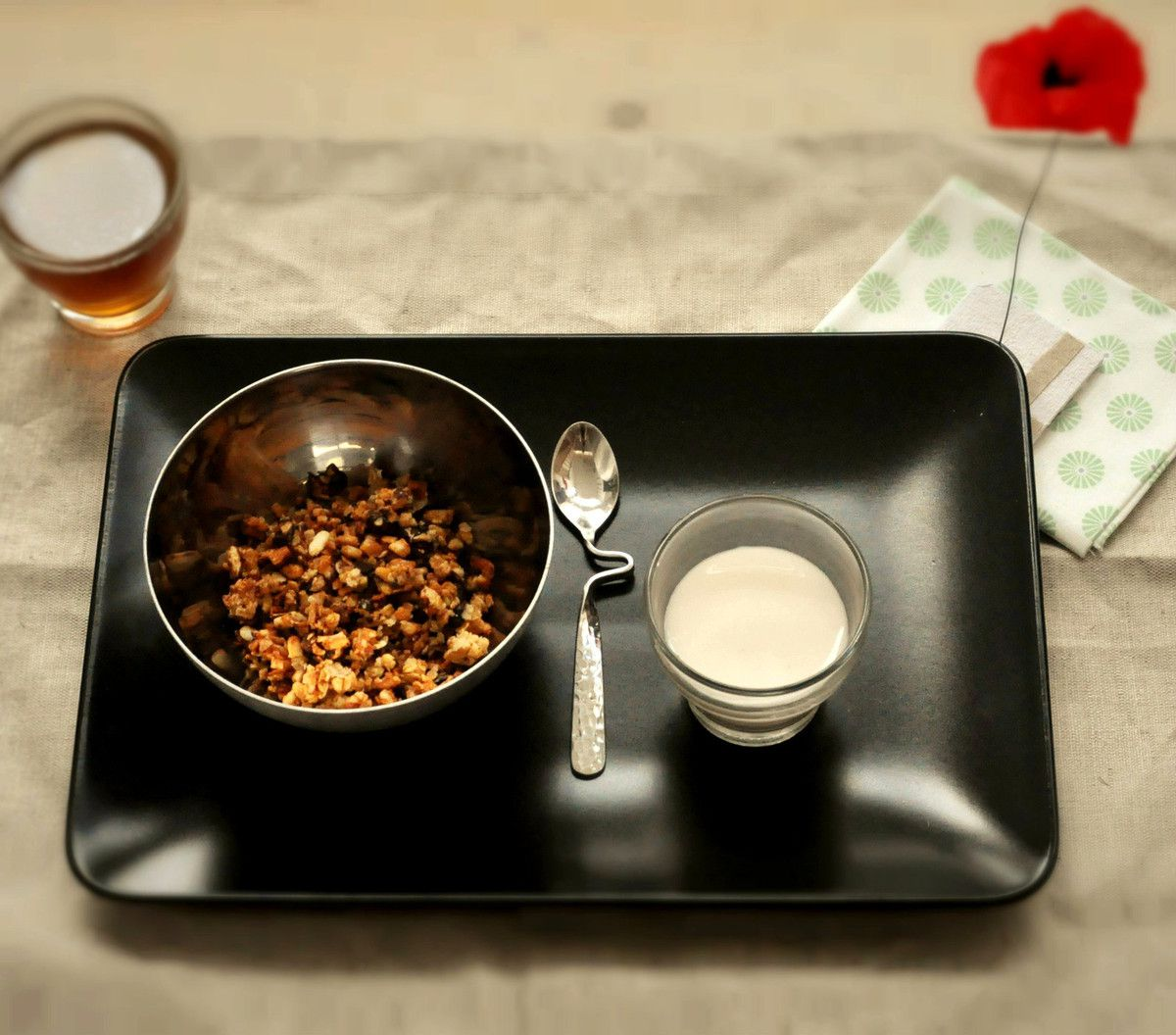 Petit Déjeuner entièrement ZD... à manger à la maison ou au boulot.
