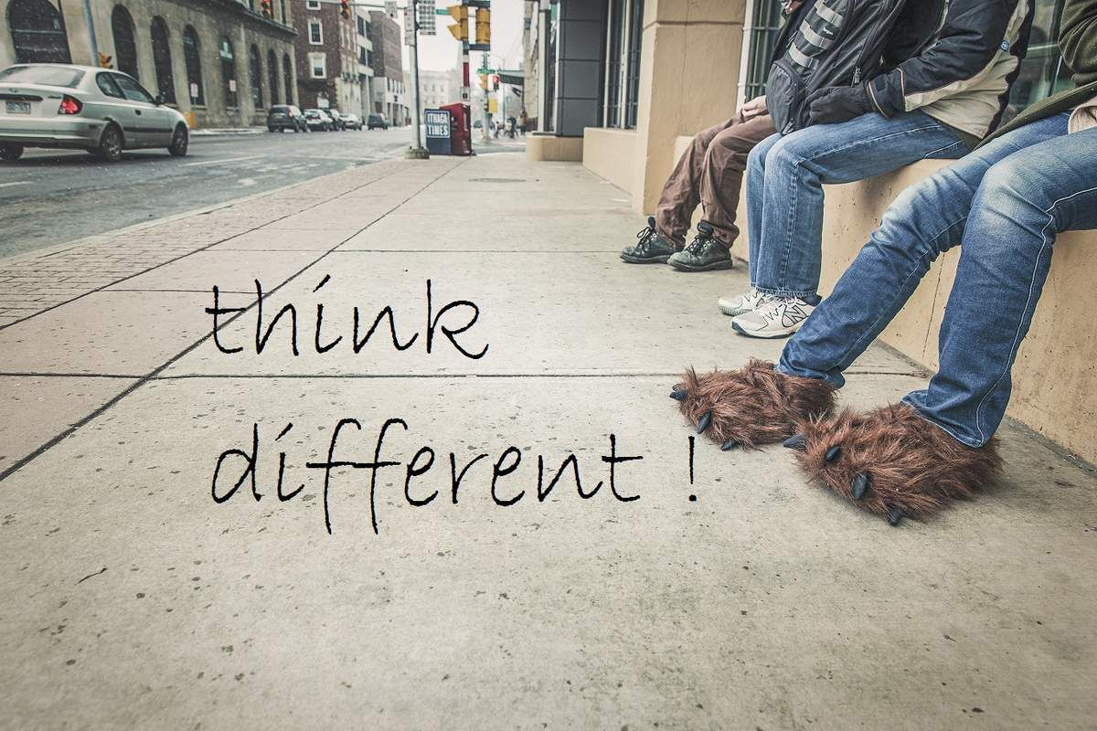 Je rêvais d'un autre monde #thinkdifferent