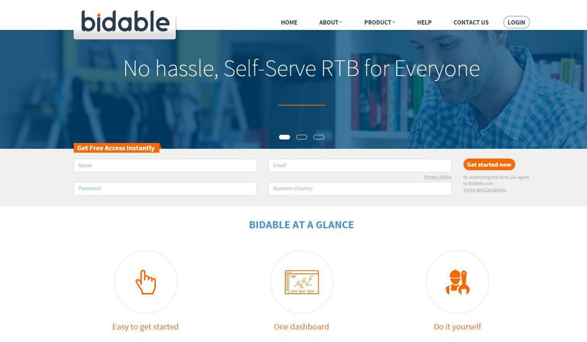 Help yourself with some real-time bidding