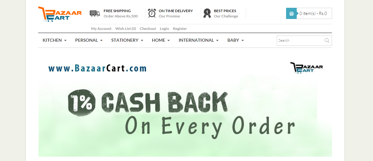 BazaarCart makes its way into Indian online grocery shopping
