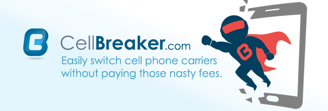 Cellbreaker manages your mobile plans, promises lower fees and no termination payments