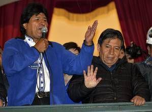 La Bolivie plébiscite la justice sociale