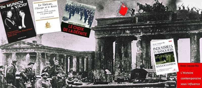 21/11/14 : Nice – conférence d'Annie Lacroix Riz « LE VATICAN ET L'ALLEMAGNE aux XIXème et XXème siècles avec les deux guerres mondiales en toile de fond »