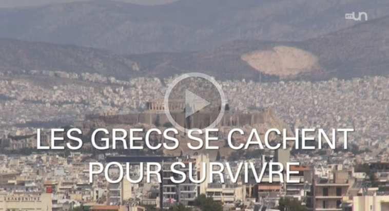 Vidéo septembre 2014 - Les grecs se cachent pour survivre...