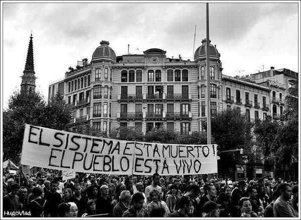 Les citoyens espagnols signalent la violation les droits de l'homme par le Gouvernement espagnol.