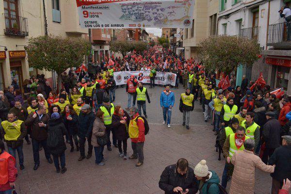 Espagne &quot&#x3B; Mobilisation pour la défense des libertés et le droit de grève . Acquittement pour Les 8 De Airbus &quot&#x3B;