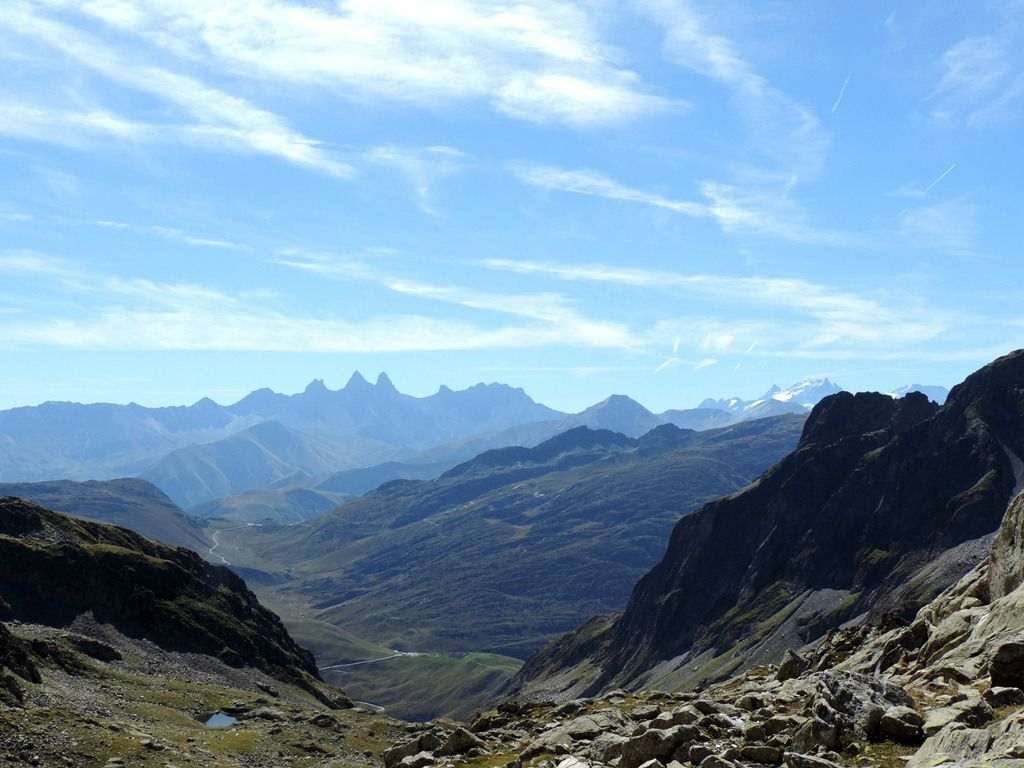 Epaule du Bec d'Arguille (2688m) et Col de la Croix (2529m) avec l'ADAPAR le 28.08.15