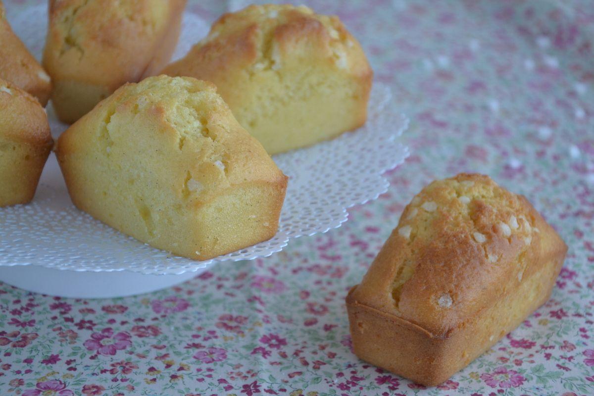 Mini plumcakes vanille &amp&#x3B; lime