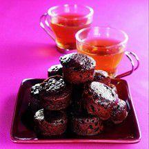 Bouchées moelleuses au chocolat