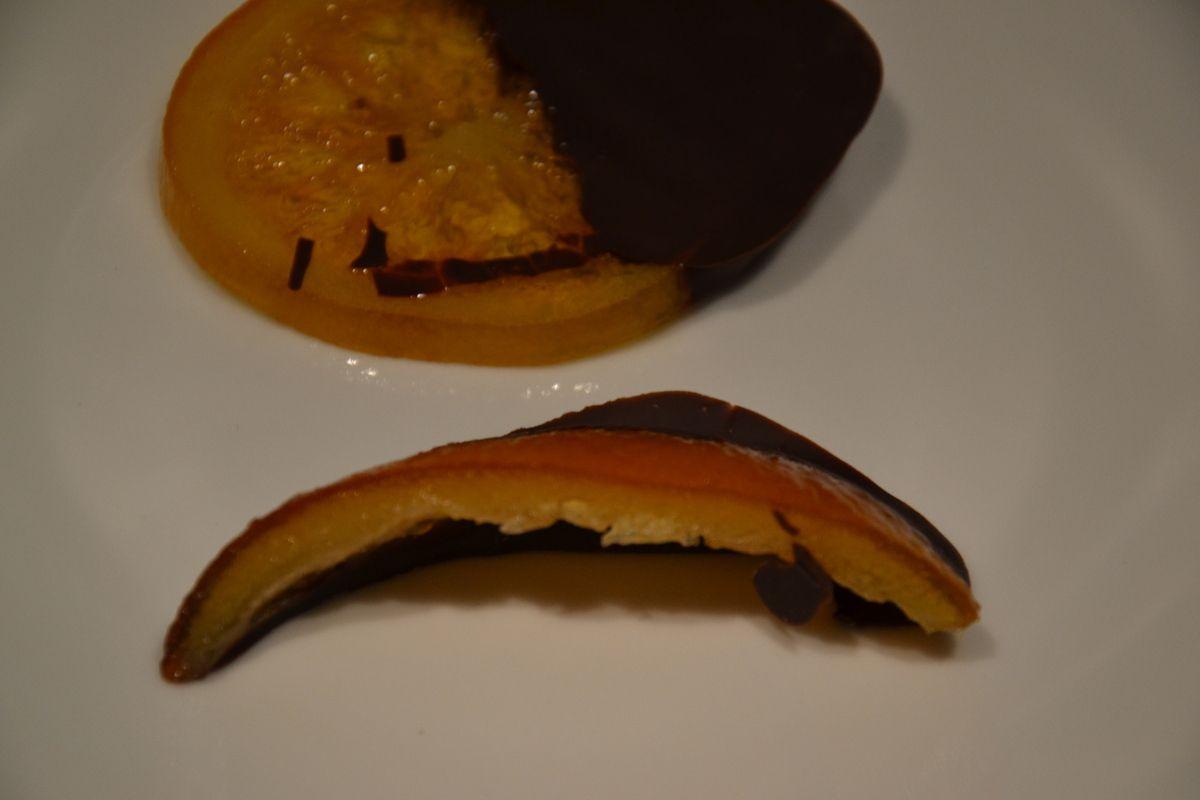 Ecorces d'oranges au chocolat ou orangettes
