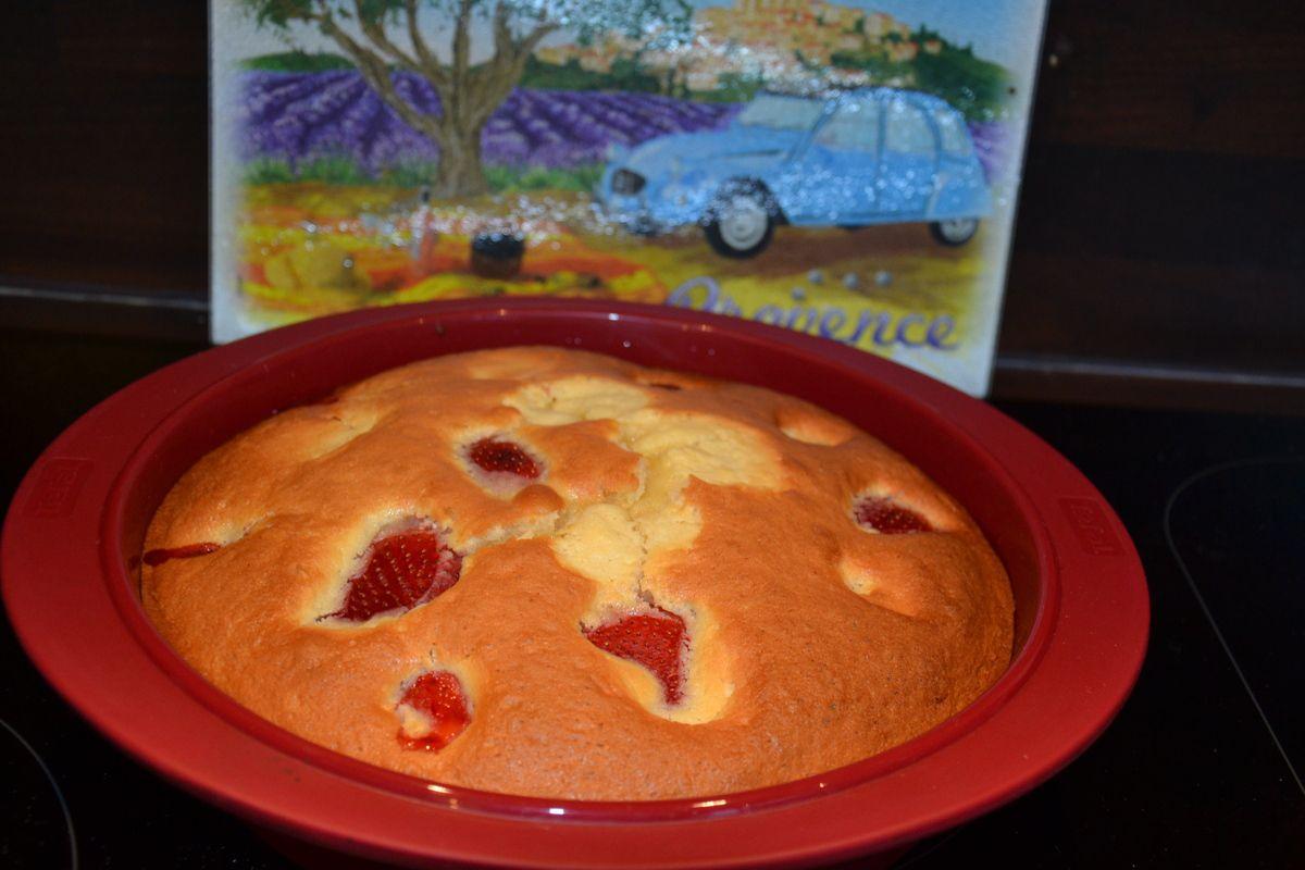 g 194 teau aux fraises facile vite fait et d 201 licieux kanisette