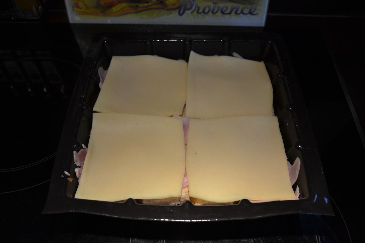 CROQUE MONSIEUR WEIGHT WATCHERS
