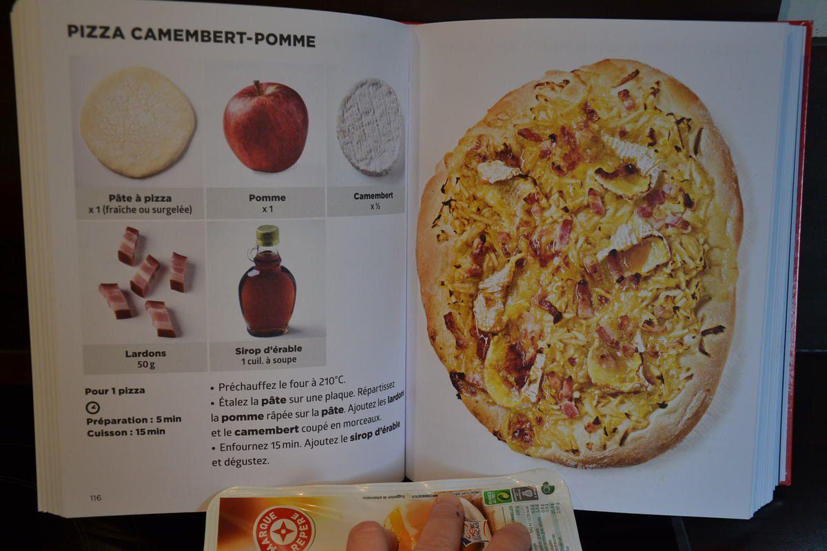 PIZZA CAMEMBERT- POMME ou PIZZA NORMANDE