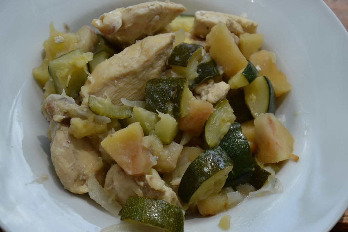 Poulet sucré salé de Weight Watchers