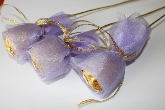 Joli bouquet Ferrero Rocher