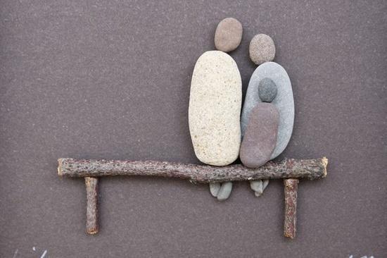 Tableaux de pierres...