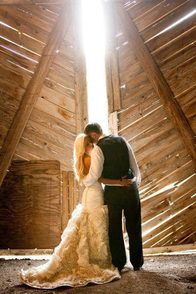 Mariage de style rustique