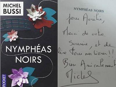 Nymphéas noirs - Michel Bussi