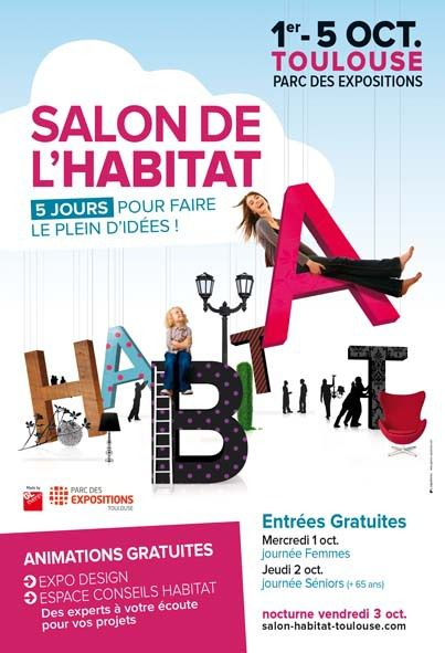 Toulouse salon de l 39 habitat et salon de l 39 immobilier for Toulouse salon