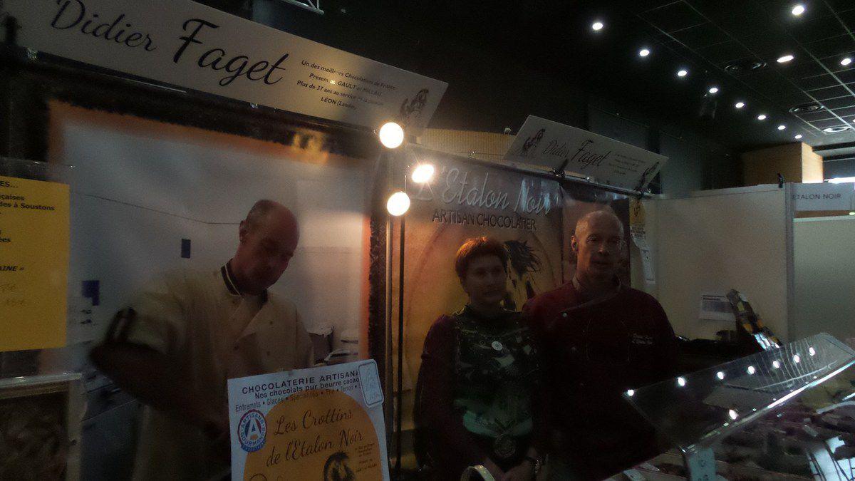 MOISSAC : 2EME JOUR SALON DU CHOCOLAT ET DES ATELIERS CULINAIRES 2014